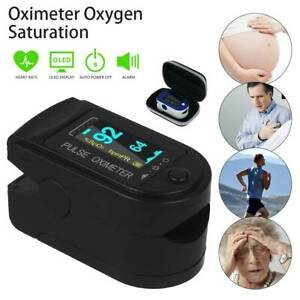 Usa Finger Pulse Oximeter Blood Oxygen Spo2 Monitor Pr Saturation Heart Rate Fda