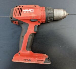 Hilti Cordless Hammer Drill Sf 6h a22 tool Only No Battery Tested Clean