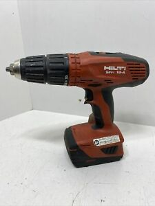 Hilti Sfh 18 a Cordless Hammer Drill 18v 1 2 Drive With 1 Battery Tested
