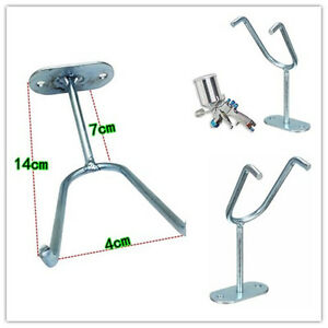 Spray Holder Gun Gravity Feed Paint Stand Hvlp Wall Hook Bench Mount Booth Cup