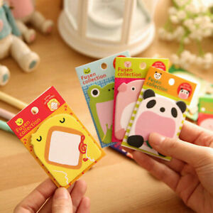 Sticky Notes Korean Style Stationery Cute Happy Zoo Hot Notes New Creat Pad New