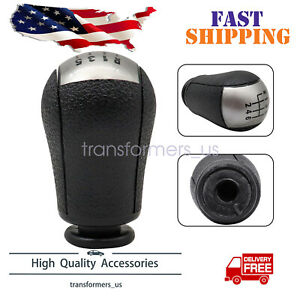 Fit For 2011 2012 Frd Ustng Black 6 Speed Manual Gear Shift Knob New