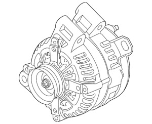 Genuine Gm Alternator 13512759
