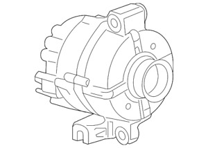 Genuine Gm Alternator 22888109