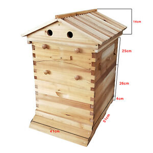Upgraded Food grade Wooden Bee Hive Frame Fits Any Beekeeping Wooden House New