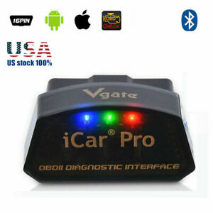 Vgate Icar Pro Bluetooth 40 Adapter Obd2 Bimmercode Coding For Bmw Ios Android