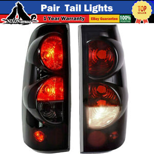 99 03 Gmc Sierra Pair Tail Lights 1999 2006 Chevy Silverado Replacement Assembly
