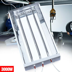 Spray Baking Booth Infrared Paint Curing Lamp Heating Light Heater 110v 3000w