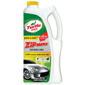 Turtle Wax Zip Wax Car Wash And Wax Uses Powerful Sudsing Action To Leave Your