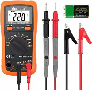 Neoteck Auto Ranging Digital Multimeter Ac dc Voltage Current Resistance Multi T