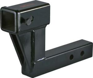 Towever 84123 Trailer Hitch Extender With 6 25 Drop rise 9 Extension Hitch
