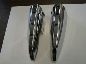 Nos Oem Ford 1966 1969 Lincoln Rear Bumper Ends 1967 1968 Continental Town Car