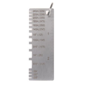 Wire Gauge Thickness Measuring Tool Wire sheet Metal Gage Measurement _ f