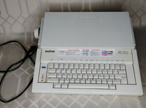 Brother Portable Electric Typewriter Ax 350 Daisy Wheel With Cover Usa Vintage
