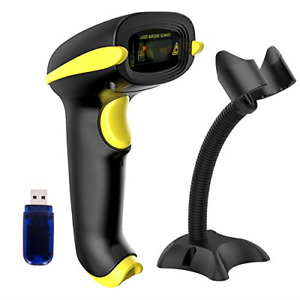 Wireless Barcode Scanner Compatible With Bluetooth Usb 1d Bar Code Reader