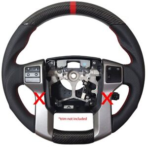 Revesol Sports Real Carbon Fiber Steering Wheel For 14 20 Toyota Tundra Tacoma