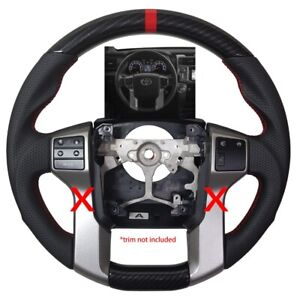 Revesol Sports Hydro Dip Carbon Steering Wheel For 14 20 Toyota Tundra Tacoma