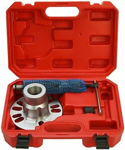 Hydraulic Wheel Hub Drive Shaft Puller Power For 4 And 5 Stud Hubs 10 Ton