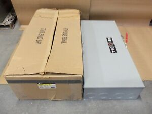 New Ge Tg4325 400 Amp 240v 3ph 4w Fusible Type 1 Safety Switch Disconnect