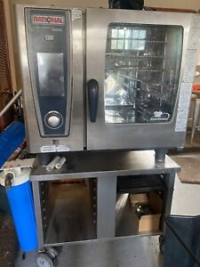 Rational Half Sized Electric Combi Combitherm Oven Scc 61 We 1 Phase