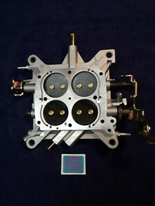 Oem Holley Baseplate Assembly For 850 1000 Cfm Model 4150 Double Pumper Carbs