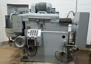 16 Sundstrand Model H ram Type Horizontal Spindle Precision Rotary Surface Grin