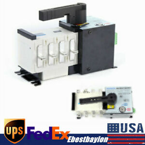 4p 100a 400v Automatic Transfer Switch Dual Power F Generator Changeover Switch