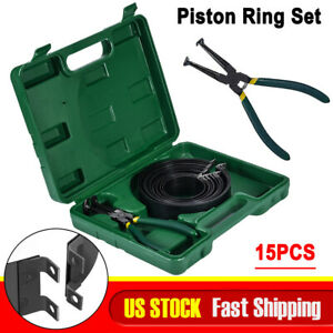 15car Piston Ring Compressor Set Disassembly Tool Widening Assembly Pliers