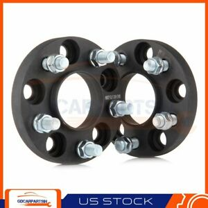2 20mm Thick Hubcentric Wheel Spacers 5x4 5 14x1 5 Studs For Ford Mustang 2016