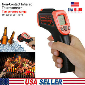 Medical Non contact Body Forehead Ir Infrared Digital Thermometer Adults Baby Us