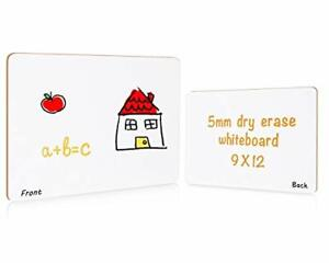 Small Dry Erase White Board For Students 9x12 inches 1 Piece lot blank np