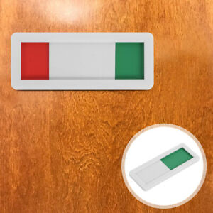 Self Adhesive Open Closed Sign Office Business Door Meeting Room Slider Sign