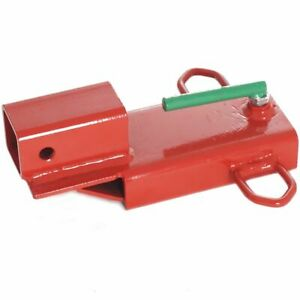 Titan Attachments Forklift Hitch Receiver Clamp On Steel 3 000 Lb Capacity