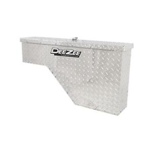 Dee Zee Dz95 Aluminum Driver Side Wheel Well Tool Box For Ford Gm Dodge Toyota