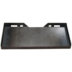 1 4 Universal Quick Attach Mounting Plate For Skid Steer Fits Bobcat Kubota
