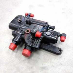 Used Hydraulic Hitch Control Valve Assembly Fits Case Ih 7130 7230 7120 7240