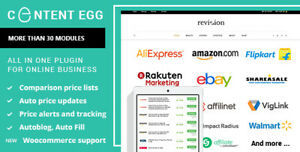 Content Egg Pro V9 3 0 All In One Plugin For Affiliate