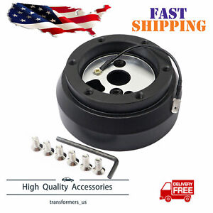 Steering Wheel Quick Release Short Hub Adapter For Dodge Gm Gmc Cheverolet