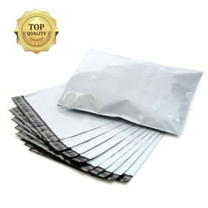 100 10x13 Poly Mailers 2 5 Mil Plastic Envelopes Shipping Mailing Bags Self Seal