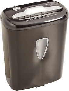 High security Micro cut Paper And Credit Card Home Office Shredder 6 sheet