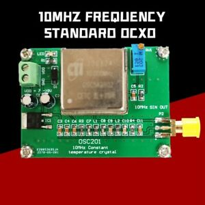 Ocxo Frequency Reference Board 10mhz Standard Frequency Sine Wave High Stability