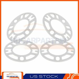 4 5mm Universal Wheel Spacers 77cb 4 5lug 98 To 114 3mm For Nissan Chevy Ford