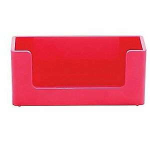 Poppin Business Card Holder pink