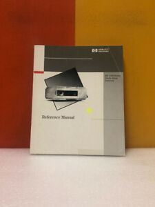 Hp 1100 Series Diode Array Detector Reference Manual