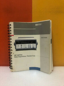 Hp 34970a Data Acquisition switch Unit User s Guide