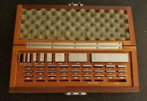 Brown And Sharpe 36 Piece Gage Block Set 050 To 4 000 70
