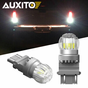 Auxito Super Bright 3156 3157 Led Back Up Reverse Light Bulbs White 2x For Chevy