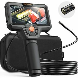 Used Depstech Dual Lens Inspection Camera 7 9 Mm Hd Borescope Endoscope With Led