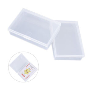 2PCS Plastic Box Playing Cards Container Storage Case Poker Game Card Box *BAW C $3.45