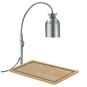 Nemco 6016 Carving Station Bulb Warmer With Wood Base